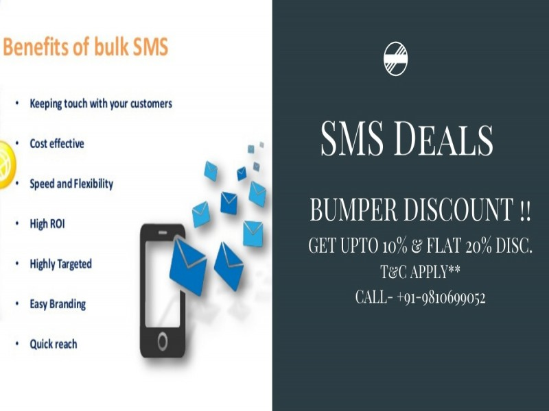 Best Bulk SMS Services Providers Company in India