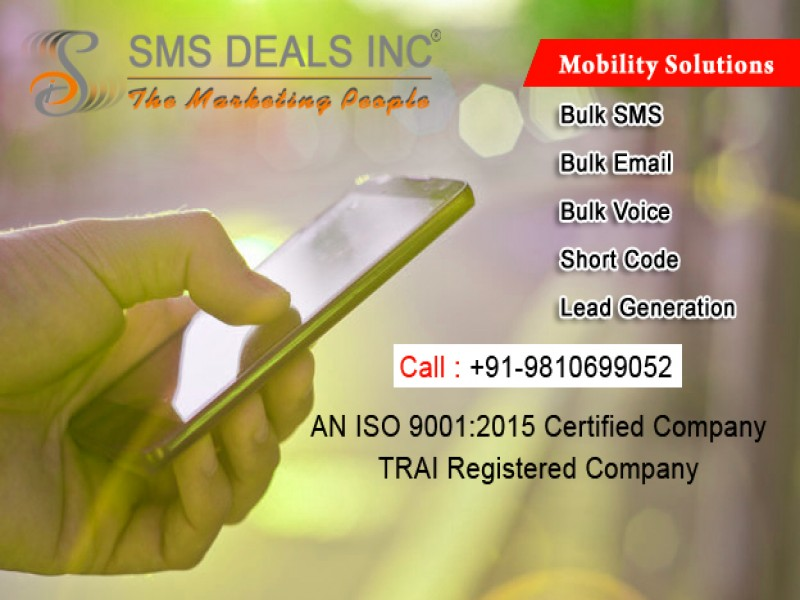 4 Reasons You Should Begin Using SMS Service in India